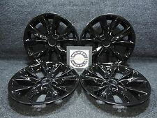 "2015-2017 Chrysler 300 17"" Gloss Skins Covers Hubcaps Caps 7301GB Hol 2535"