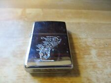 Guam Coca Island & cities advertising Zippo chrome wind proof lighter B-02
