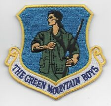 """USAF Patch 158th FIGHTER WING, 3.25"""" Flight Suit Size"""