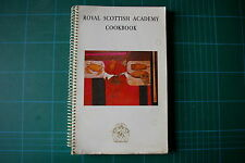 Royal Scottish Academy Cookbook - Dorothy Wheeler: 1st 1988 PB [Ringbound] VGC