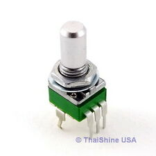 2 x 500K OHM Linear Taper Potentiometer Round Shaft PCB 9mm USA Seller Free Ship