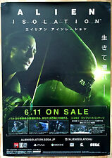 Alien Isolation RARE PS4 XBOX ONE 51.5 cm x 73 Japanese Promo Poster