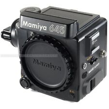 Mamiya M645 Super Body Only / Medium Format SLR Camera with Crank and Caps