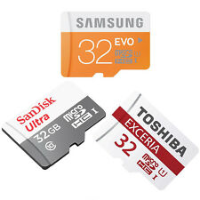 32GB CLASS 10 MICRO-SD MEMORY CARD FOR HTC One M8s, One E9, One E9+, One M9+, ME