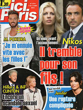 ici Paris n°3714 m pokora hillary bill clinton jenifer nikos