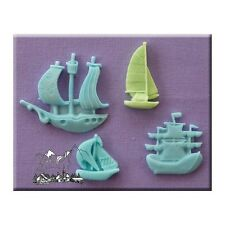 Alphabet Moulds - Ships and Boats Cake Decorating Accessories