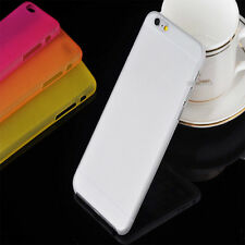 FUNDA CARCASA TPU  APPLE IPHONE 6 4,7 TRANSPARENTE MATE ULTRA FINA 0,3mm