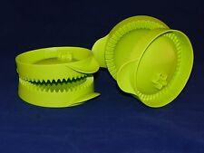 Tupperware NEW Small Pie Press Empanda Maker Set/2 Green