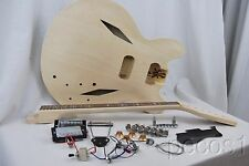 DIY SEMI-HOLLOW Trini Lopez STYLE ELECTRIC GUITAR BUILDER KIT
