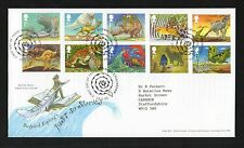GB 2002 FDC Rudyard Kipling Just So Stories Burwash Etchingham postmark stamps