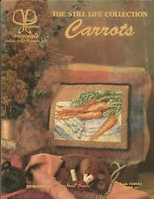 Vintage '97 Carrots Counted CROSS STITCH Patterns by JANET POWERS
