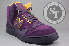 NEW BALANCE LIFESTYLE P740PPR PURPLE REIGN JAMES WORTHY PACKER GOLD SIZE: 9
