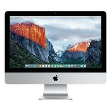 "NUOVO 2016 iMac 21,5 "" / 1.6 GHz i5 / 8GB RAM / 1TB DRIVE / OS X + Windows 7, 8.1 o 10 Pro"