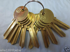 Lot of 10 Y1 YALE Key Blanks  / Brass / Made in Mexico  by JMA