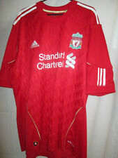 Liverpool 2010-2011 Home Football Shirt Size Large ynWA Anfield /12891