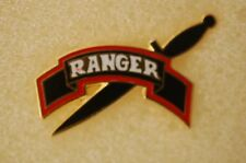 US USA Army Ranger Military Hat Lapel Pin