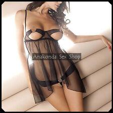 Mary Women SEXY Lingerie Lace DRESS Underwear Babydoll Open Sleepwear Sex Toy