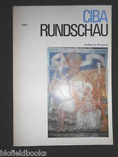 Ciba Rundschau - Vintage German Magazine - 1966, Issue 1 - Slovenian Textiles