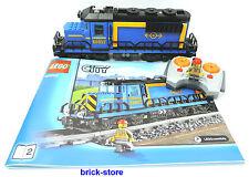 LEGO City/ Chemin de fer (60052) LOK/TRAIN DE MARCHANDISES / LOCOMOTIVE DIESEL