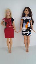 Barbie Doll Curvy clothing set
