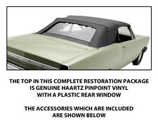FORD FAIRLANE CONVERTIBLE TOP DO IT YOURSELF PACKAGE 1966-1967