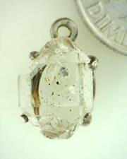 "6.17ct Herkimer ""Diamond"" Crystal in Sterling Silver"