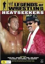 WWE Legends of Wrestling Heatseekers (DVD) Hulk Hogan Roddy Piper Ric Flair R4