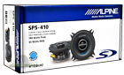 "Alpine SPS-410 2-way 4""Coaxial Car Audio Speakers New (Pair) SPS410 Car Speaker"