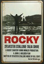Rocky Movie Retro Vintage Metal Sign Home Garage Workshop Pub Studio