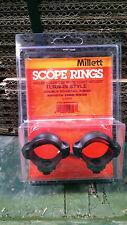 Millett 30mm Turn-In-Style Low Rings