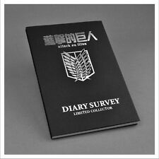 Japan Anime Attack on Titan Cosplay Notebook Diary book Stationery 142 x 208mm