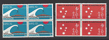 Australia 1970 World Expo '70 at Osaka Japan Blocks of 4