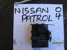 2004 nissan patrol 3.0 diesel unité de contrôle module 28495VB002