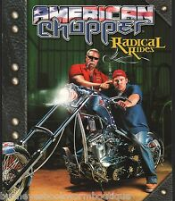 AMERICAN CHOPPER Radical Rides NEW Discovery BOOK Custom Bikes ORANGE COUNTY