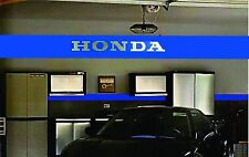 Honda Beautiful Brushed Aluminum 4 Foot Garage Sign Home or Office