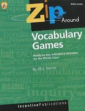 Vocabulary Games: Ready-to-use, Interactive Activities for the Whole Class, Midd