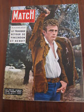 Paris Match March 30 1957 James Dean dies Brancusi Sophia Loren Richard Nixon