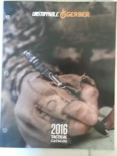 2016 GERBER Tactical Catalog Booklet / Knives Multi-Tools and More 83 Pages NEW