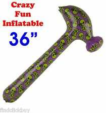 """36"""" Alien Extraterrestrial Inflatable Hammer, Fancy Dress Party Beach Pool Toy"""