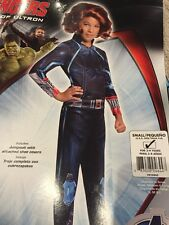 New Girls Black Widow Marvel Avengers Halloween Costume Size Small 4t