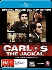 Carlos The Jackal - Trilogy + Movie (Blu-ray, 2011, 3-Disc Set) (Box D39)