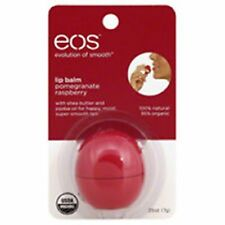 EOS Pomegranate Raspberry Lip Balm 95% Organic and 100% Natural Retail Pack