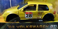 JADA 02 2002 VOLKSWAGEN VW GTI YELLOW RACE STYLE DETAILED V DUBS COLLECTIBLE CAR
