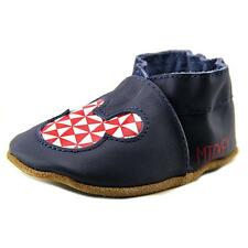 Robeez Mickey Geo Infant US 0-6 Months Blue Slipper