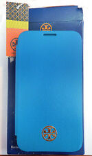 TORY BURCH Turquoise Leather SAMSUNG GALAXY S4 Case Msrp$65 *New in ORIGINAL Box