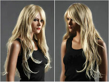 JIAFAJF262 pretty style long blonde curly Hair Wigs for women wig