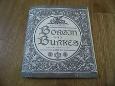 Harry Potter Borgin & Burkes Auction Catalogue Knockturn Alley London Replica