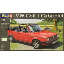 Revell VW Golf Cabriolet - 1:24 Scale Kit - 07071