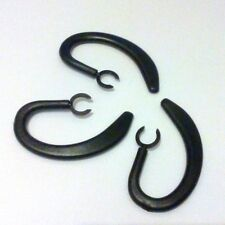 LARGE EAR HOOK CLIP HOOKS EARHOOK FOR ALIPH JAWBONE ERA Shadow box, Midnight
