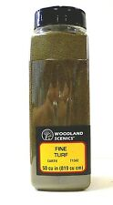 Woodland Scenics Ground Cover Foam Shaker Fine Turf Earth Model Railroad 1342